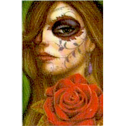 La Catrina /Wassertransfer Sticker