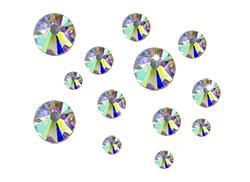 Irisierende Straßsteinchen ss5 (1,6mm)