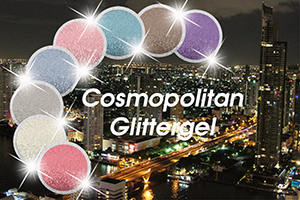 Cosmopolitan Glittergele