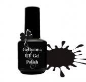Gelissima *UVGel-Lack 15ml #SO1 (Schwarz)