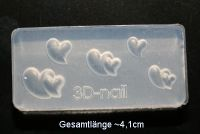 3D Acryl Form Twinhearts - #004
