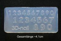 3D Acryl Form Zahlen - #024
