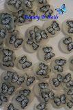 Fimo - Schmetterling Schwarz Weiß #s4 - 1 Stange