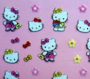 Cartoon Sticker - Glitter Sticker #K311