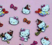 Cartoon Sticker - Glitter Sticker #K319