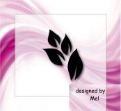 Airbrushschablone selbstklebend - #BT01