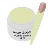 UV Farbgel *Gently Yellow* - 5ml - #CP1