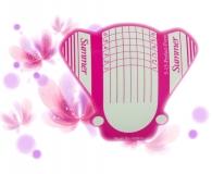 100 Stück Butterfly Schablonen XL & Extra Breit - Nagelverlängerung