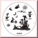 Stamping Schablone DXE25*Vogelscheuche,Geist,Spinnennetz,Fledermaus
