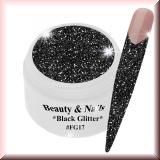 UV Farbgel *Black Glitter* - 5ml - #FG17