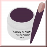 UV Farbgel *Dark Purple* - 5ml - #T19