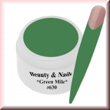 UV Farbgel *Green Mile* #630 - 5ml