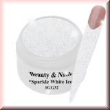 UV Farbgel *Sparkle White Ice*- 5ml -#GG32