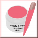 UV Paint On Gel *Neon Coral* - 5ml #OS_3