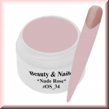 UV Paint On Gel *Nude Rose* - 5ml #OS_34