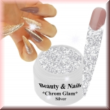 Chrom Glam Gel *Silver* - #2