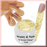 Chrom Glam Gel *Gold* - #3