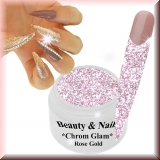 Chrom Glam Gel *Rose Gold* - #6