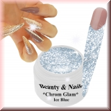 Chrom Glam Gel *Ice Blue* - #9