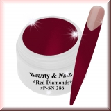 UV Farbgel *Red Diamonds* - 4,37ml - #PSN286