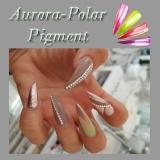 Aurora Pigment mit Polarlichteffekt ~1 Gramm + Perfekt Top Gloss 12ml