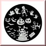Stamping Schablone *Halloween -#hehe57*