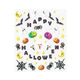 Halloween Nagelsticker *Fledermaus, Spinne, Spinnennetz, Kürbis, Geist* *H105