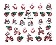 Sticker *Nikolaus,Kranz* #BLE940