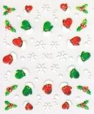 Sticker *Eiskristalle, Fäustlinge* #W1008