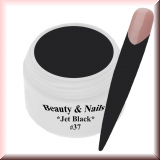 UV Farbgel *Jet Black* - 5ml - #37