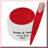 UV Farbgel *Grace Red* - 5ml - #PI12