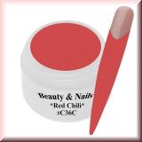 UV Farbgel *Red Chili* - 5ml - #C36C