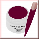 UV Farbgel *Weinrot* - 5ml - #3005