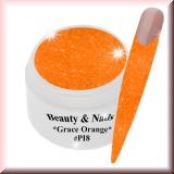 UV Farbgel *Grace Orange* - 5ml - #PI8