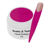 UV Farbgel *Neon Fuchsia*-5ml - #34