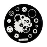 Stamping Schablone *Zahnrad, Steampunk hehe11