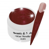UV Farbgel *Wine Metallic* - 5ml - #G851