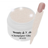 UV Farbgel *Champagner Glitz* - 5ml - #FA132