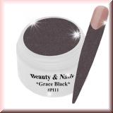 UV Farbgel *Grace Black* - 5ml - #PI11