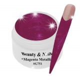 UV Farbgel *Magenta Metallic* - 5ml - #G751
