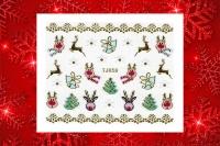 Sticker *Rudi,Rentier,Hirsch,Glocke,Weihnachtsbaum* #TJ058
