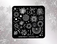 Stamping Schablone  *Feuerwerk, Silvester -#BPS_01