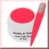 UV Farbgel *Neon Light Red* - 5ml - #CN16