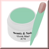 UV Farbgel *Fresh Mint* - 5ml - #C74