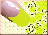 Farb Acrylpowder 5gr. - Neon Yellow #3