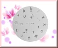 Airbrush Schablonen aus Mylar - STL309