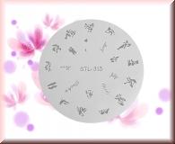 Airbrush Schablonen aus Mylar - STL 313
