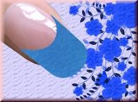 Farb Acrylpowder 4gr. - Neon Blue #2