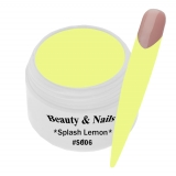 UV Farbgel *Splash Lemon*- 5ml -#SG06