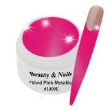 UV Farbgel *Vivid Pink Metallic*- 5ml -#1009E